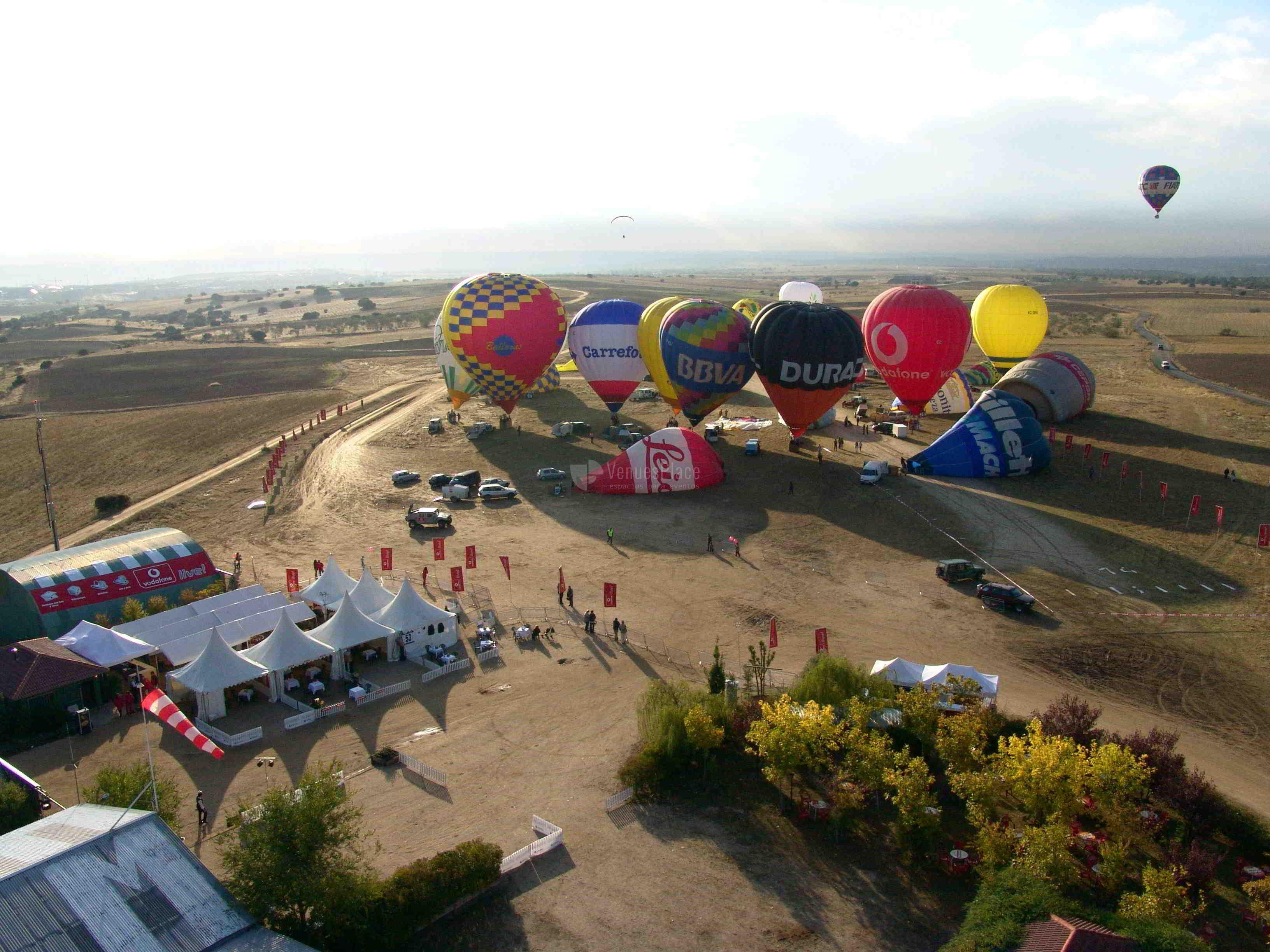 Eventos y celebraciones en Aeródromo Villanueva del Pardillo