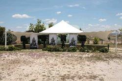 Carpa de diseño y bar en Aeródromo Villanueva del Pardillo