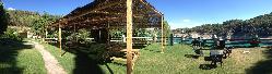 Zona Chiringuito y jardin