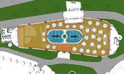 Plano Salón Lago