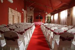 Montaje para eventos en Antigua fábrica de cerámica Cervantes