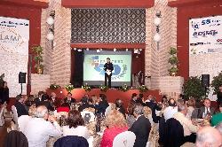 Eventos de empresa con montaje banquete en Antigua fábrica de cerámica Cervantes