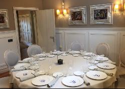 Salón privado para 12 comensales en Restaurante Etxanobe