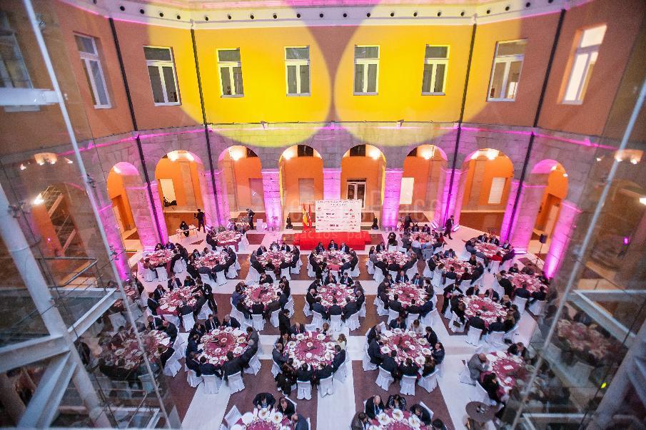 Premios Mercado del vino, Casa de correos de Madrid. Mónico Catering