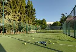 Pista de tenis en Parador de Córdoba