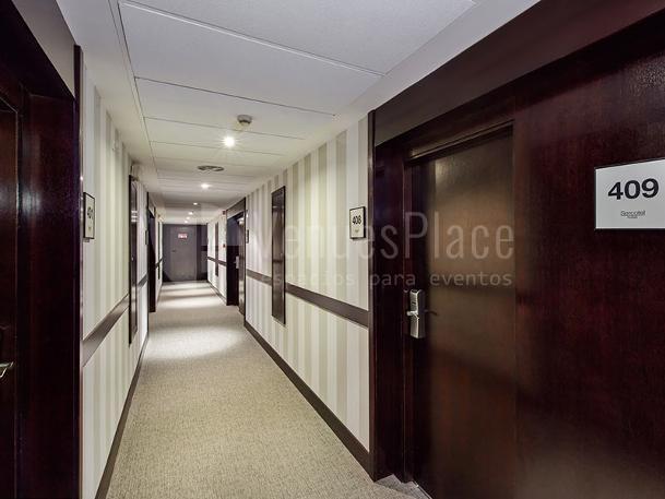 Interior 8 en Sercotel Madrid Aeropuerto