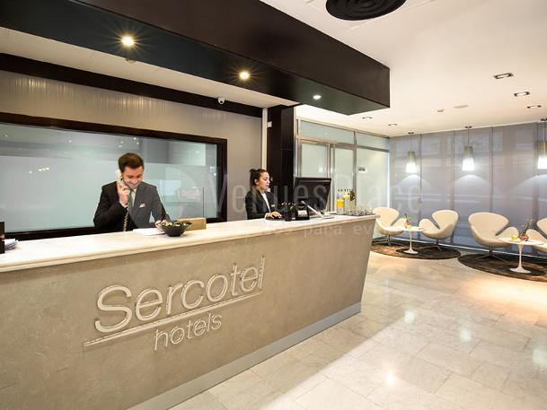 Interior 2 en Sercotel Madrid Aeropuerto