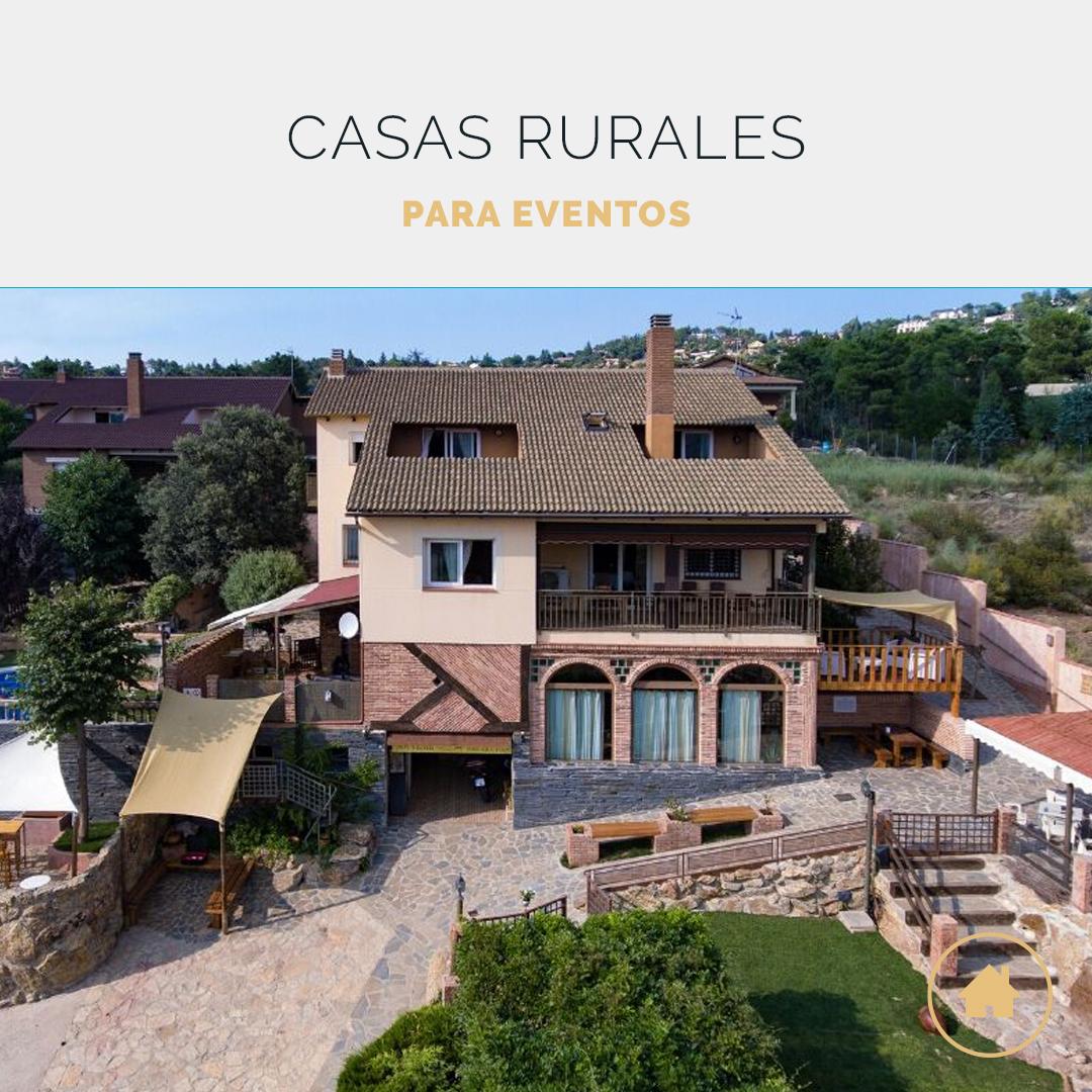Casas rurales para fiestas y eventos