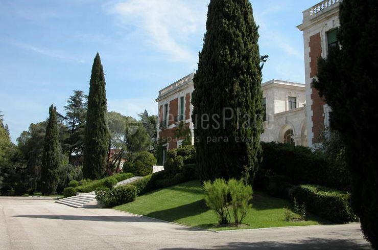 Jardines para tus eventos corporativos en Casa de Velázquez