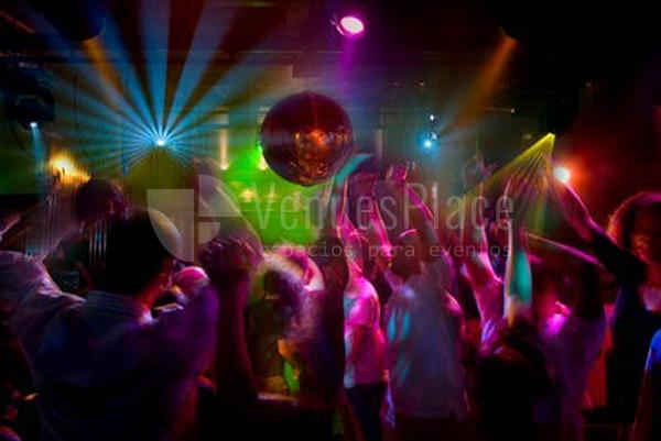 interior de Discoteca Chaston