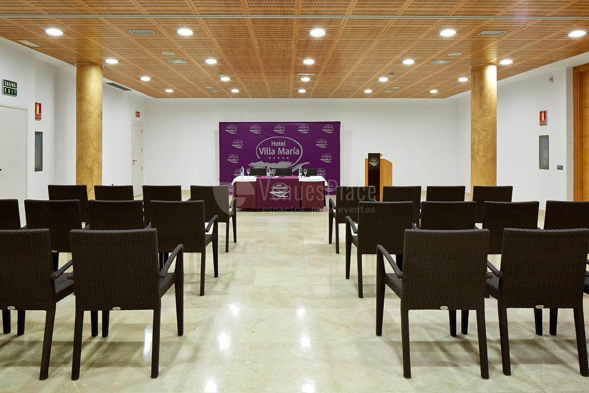 Montaje 9 en Hotel Suite Villa María