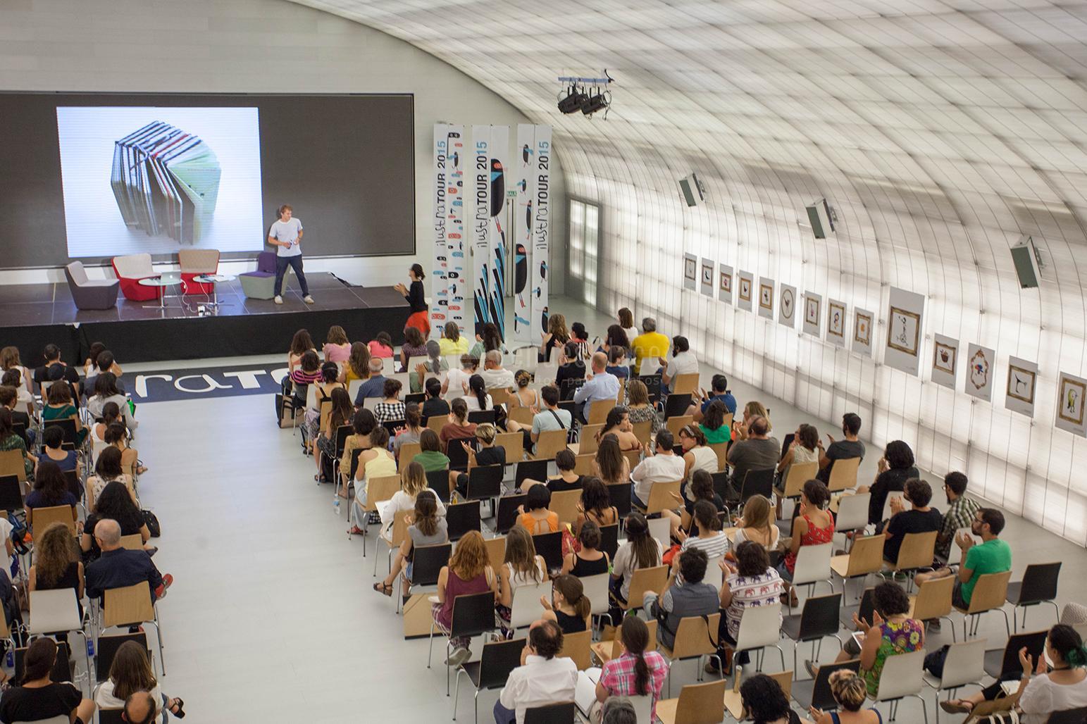Presentaciones de producto, conferencias en Casa del Lector