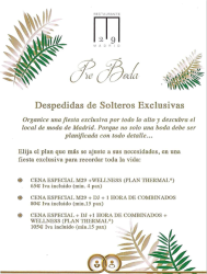 Despedidas de Solteros en Hotel Miguel Ángel