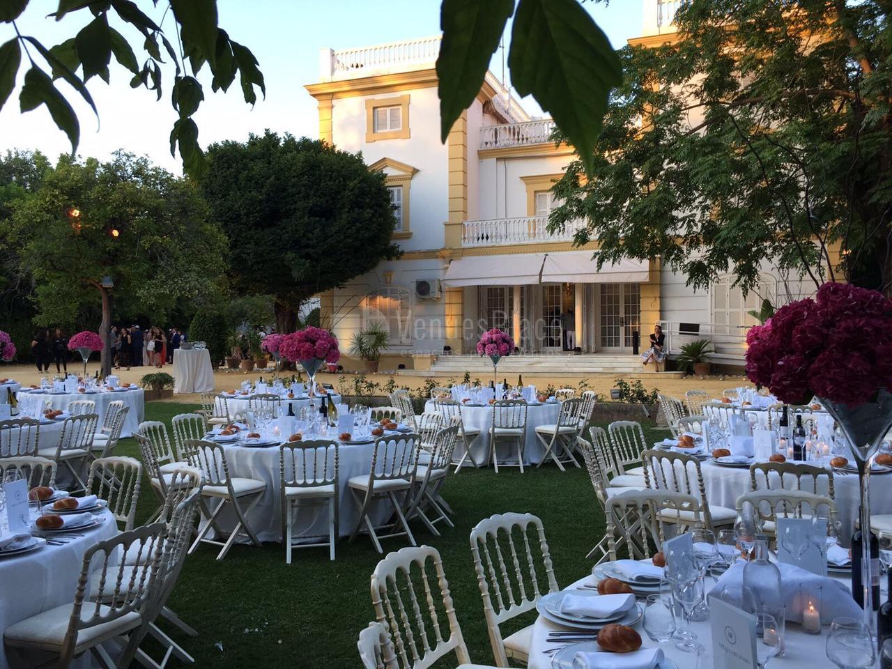 Montaje celebraciones en Casa Sotohermoso