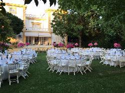 Montaje banquetes en Casa Sotohermoso