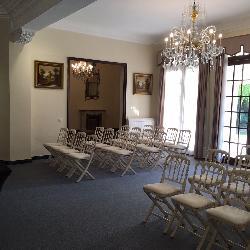 Montaje ceremonias en Casa Sotohermoso