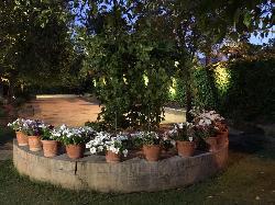 Jardín en Casa Sotohermoso