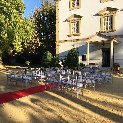 Montaje boda en Casa Sotohermoso