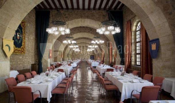 Restaurante para grupos en Parador de Sigüenza