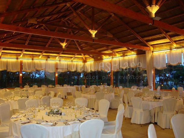 Banquete en Restaurante Veranda Hotel Gran Meliá Don Pepe*****