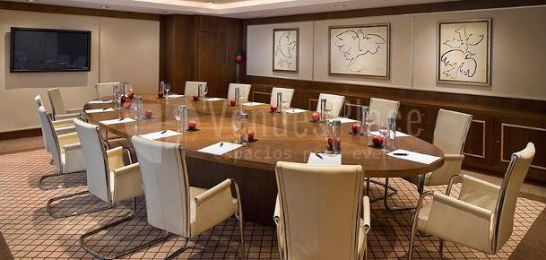 Montaje para reuniones de empresa en el  Hotel Gran Meliá Don Pepe*****