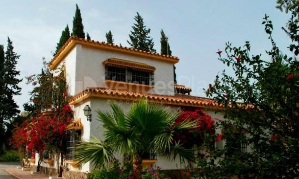 Finca Santa Sofía y su fachada