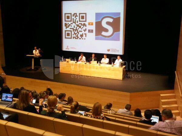 Foto auditorio en Riojaforum