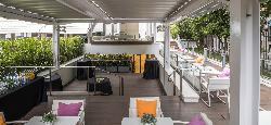 Terraza privada del Reservado Cafetería-Restaurante