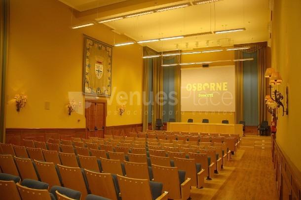 Sala de conferencias en El Jaral de Mónico