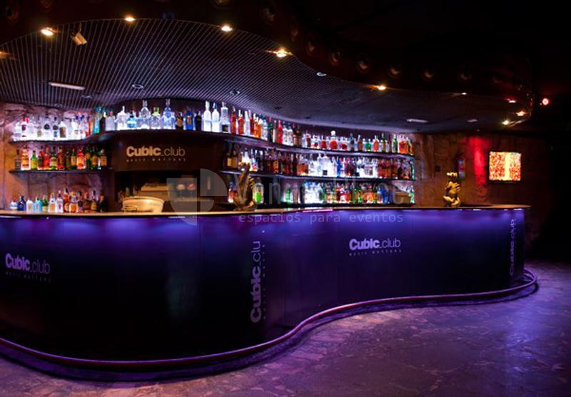 Interior Cubic Club Eventos