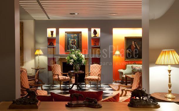 Interior 2 en Hotel Doña María