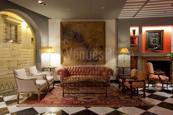 Interior 1 en Hotel Doña María