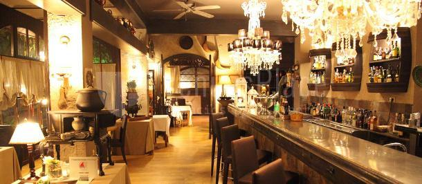 Zona de bar del Restaurante Las Botas