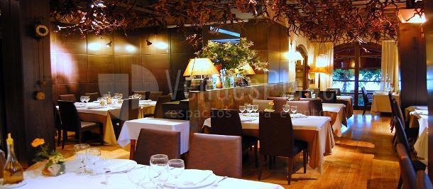 Ambiente acogedor en el Restaurante Las Botas
