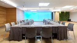 Montaje en U Salón TURQUESA en HOTEL CONDES DE BARCELONA