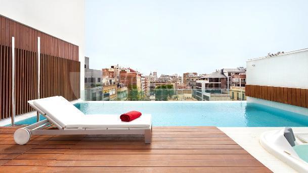 Piscina Hotel Condes de Barcelona****