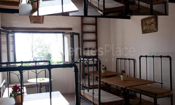 Comedor interior en Cerros Bravo Apartamentos