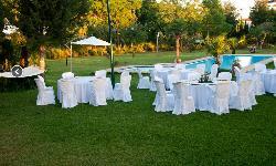 Montaje banquete en Cerros Bravo Apartamentos