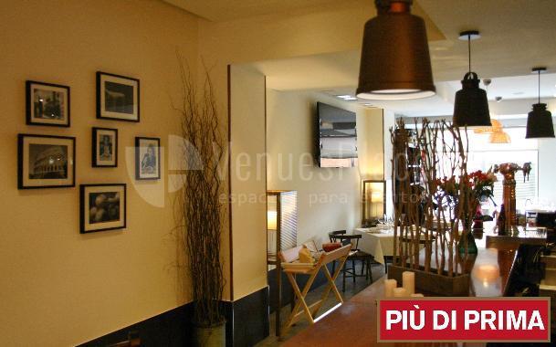 Reuniones, eventos de empresa, comidas y cenas en Più Di Prima