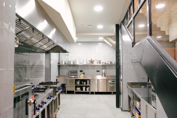 Cocina profesional en Food Lab