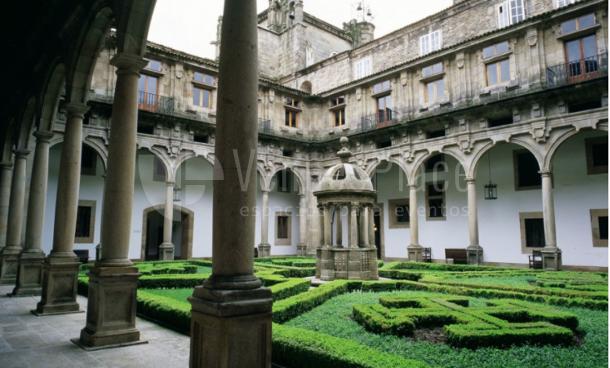 Exterior 1 en Parador de Santiago de Compostela