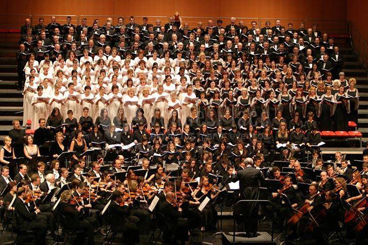Montaje concierto en Baluarte Palacio de Congresos y Auditorio de Navarra