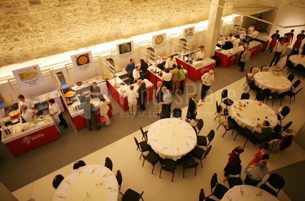 Montaje evento de empresa en Baluarte Palacio de Congresos y Auditorio de Navarra