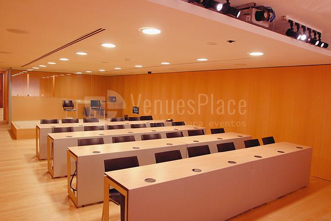 Amplios espacios para celebración de eventos en Baluarte Palacio de Congresos y Auditorio de Navarra
