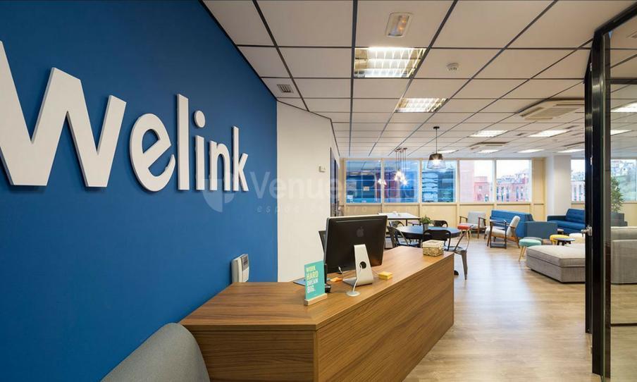 Interior 3 en Welink Coworking
