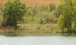 Paseo en bici por la Finca