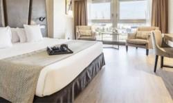 Interior habitación Hotel Ilunion Málaga
