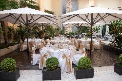 Banquetes en terrazas en InterContinental Madrid