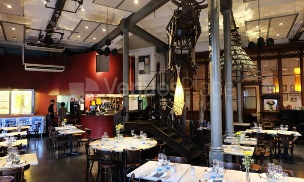 Salón principal en Restaurante El Foro