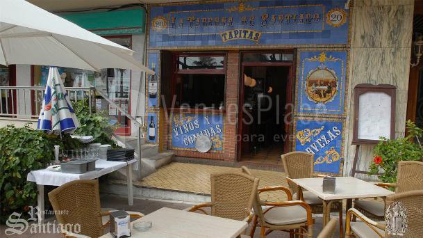 Portada de la Taberna  Restaurante Santiago